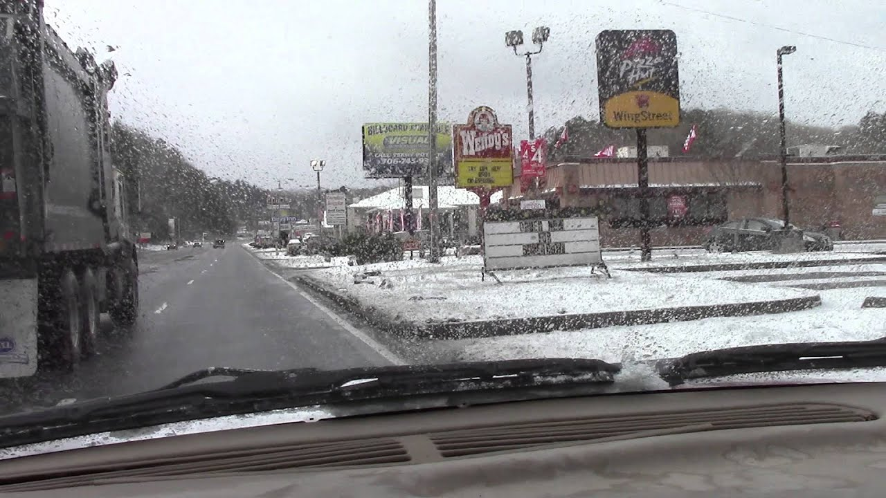 Murphy Nc 02 10 2016 Snow Morning Youtube