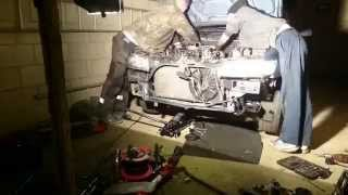 FMIC install Peugeot 306 1.9 XUD turbo diesel LASHUP!