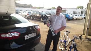 видео Велобогажник на фаркоп Thule, Amos, Peruzzo: на 2, 3, 4 велосипеда, проблема с ГИБДД