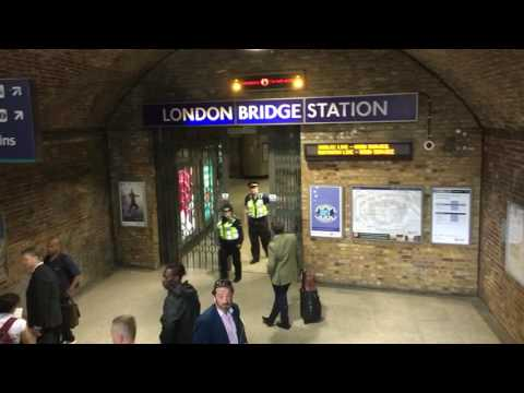 London Bridge tube station emergency