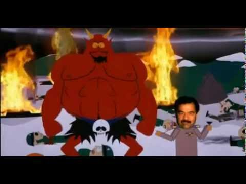 South Park: Cartman vs. Saddam Hussein - Battle of Good and Evil Video HD