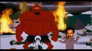 Repeat youtube video South Park: Cartman vs. Saddam Hussein - Battle of Good and Evil Video HD