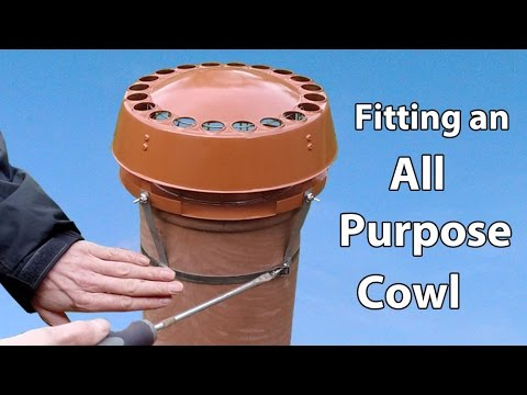 Chimney Cowl Fitting DIY all Purpose