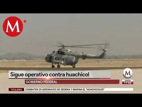 Gobierno Federal continúa operativos contra huachicoleo