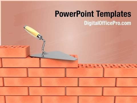 Bricks wall construction powerpoint template backgrounds bricks wall construction powerpoint template backgrounds digitalofficepro 00211 toneelgroepblik Gallery