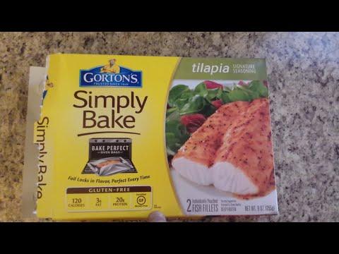 Gorton's Simply Bake Tilapia Signature Seasoning Review