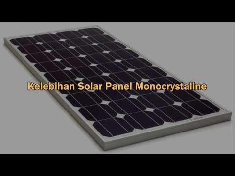 Kelebihan Solar Panel Monocrystaline