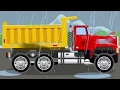 Cars Cartoon Episodes for kids The Red Truck Car Wash 2D Cartoons Animation Compilation