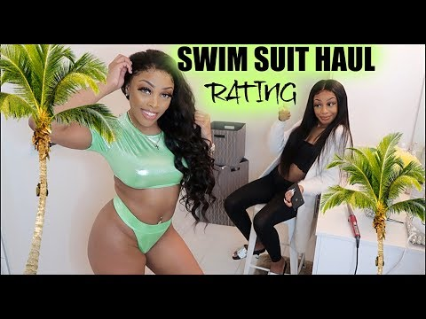 SISTER RATES MY SWIMSUITS  *EXTREMELY ENTERTAINING* | Ashley Deshaun | Ft. OFFICIALSIMPLYCC