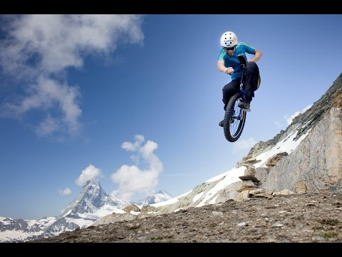 Video: Extreme Unicycling in the Alps