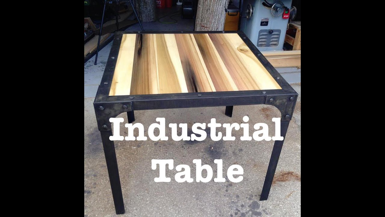 Exceptionnel Industrial Table | How To