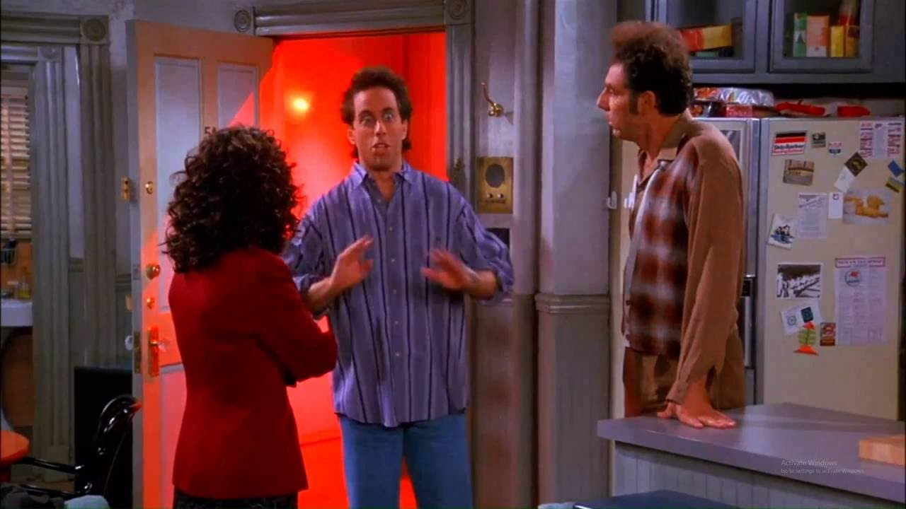 Seinfeld Jerry S Best Scene Oh I M Stressed Youtube