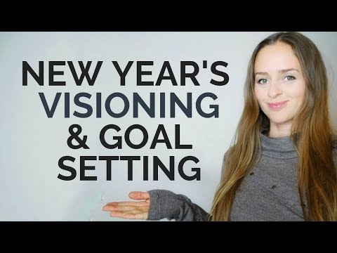 New Year's Visioning & 2019 Goal Setting!