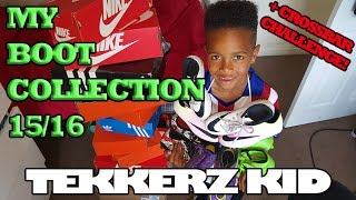 My Football Boot Collection & Tekkerz Kid vs The Dad