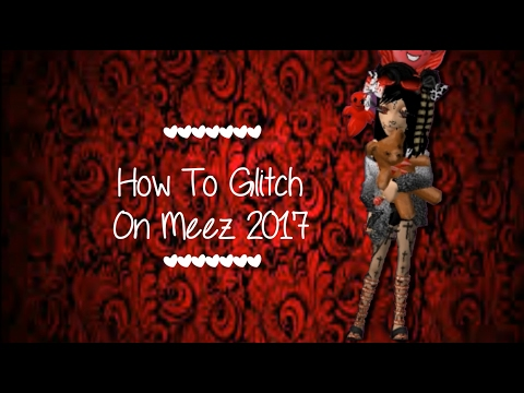 How To Glitch On Meez 2017 Thanks To Selly Youtube