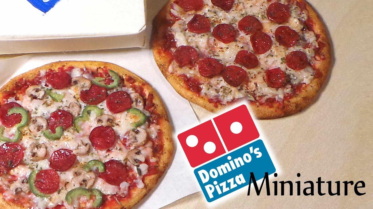 Domino's Inspired Miniature Pizza