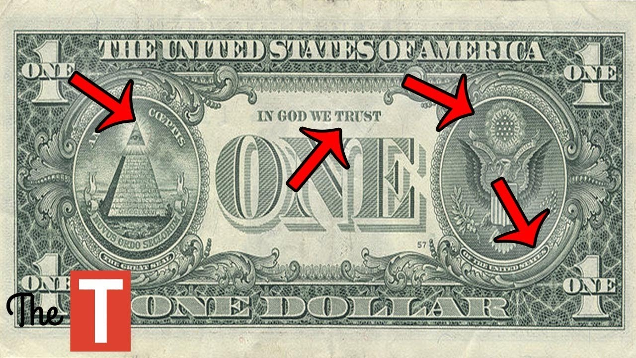10 Mind Blowing Hidden SECRETS In The US Dollar - YouTubeDollar Bill Secrets Alien