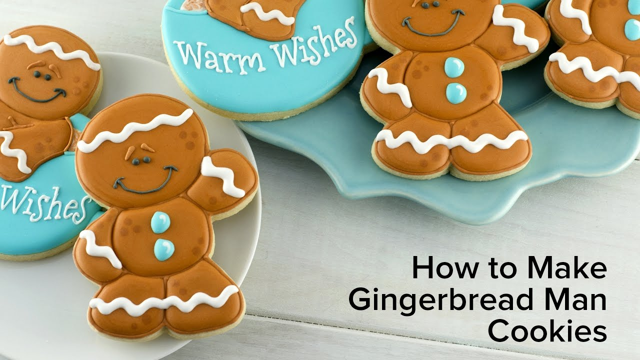 How to Make Gingerbread Man Cookies