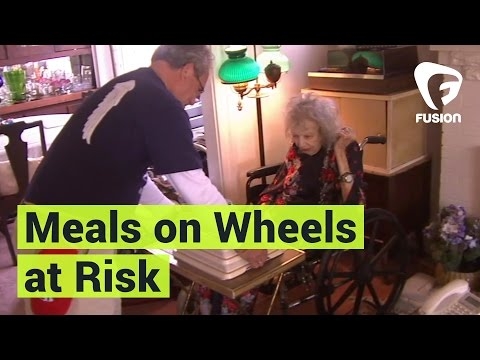 Meals on Wheels Faces a Cut in Trump's Budget