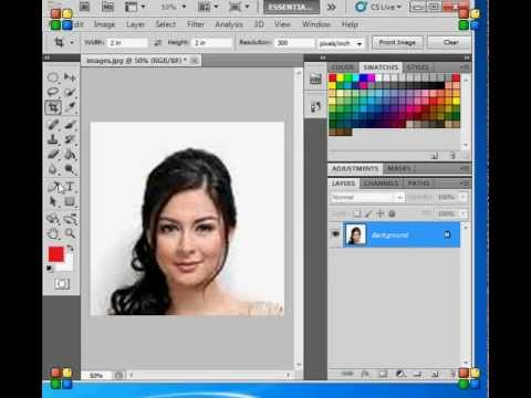MARIAN RIVERA ID PICTURE IN TAGALOG TUTORIAL
