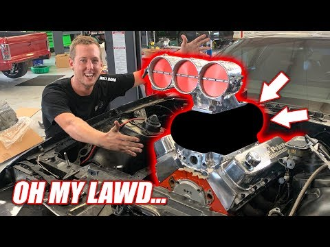 Toast's Supercharger is WAY BIGGER Than We Thought!! FREAKIN AMERICA BROTHERS!!!