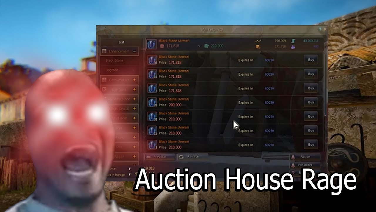 BDO'S AUCTION HOUSE SYSTEM IS ABSOLUTE GARBAGE