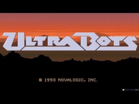 Ultrabots gameplay (PC Game, 1993)