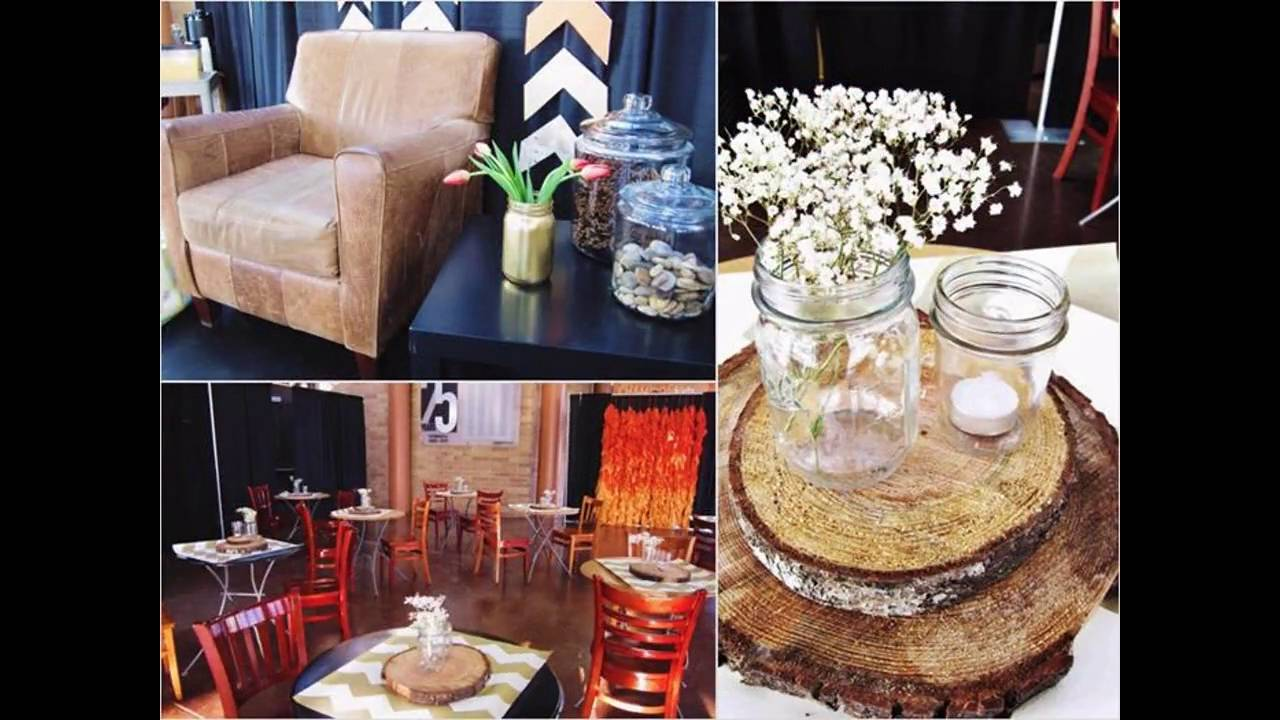 Rustic Chic Party Themed Decorating Ideas   YouTube