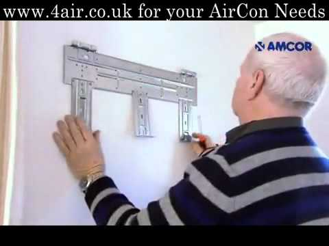 How To Install A Split Air Conditioning Installation Video