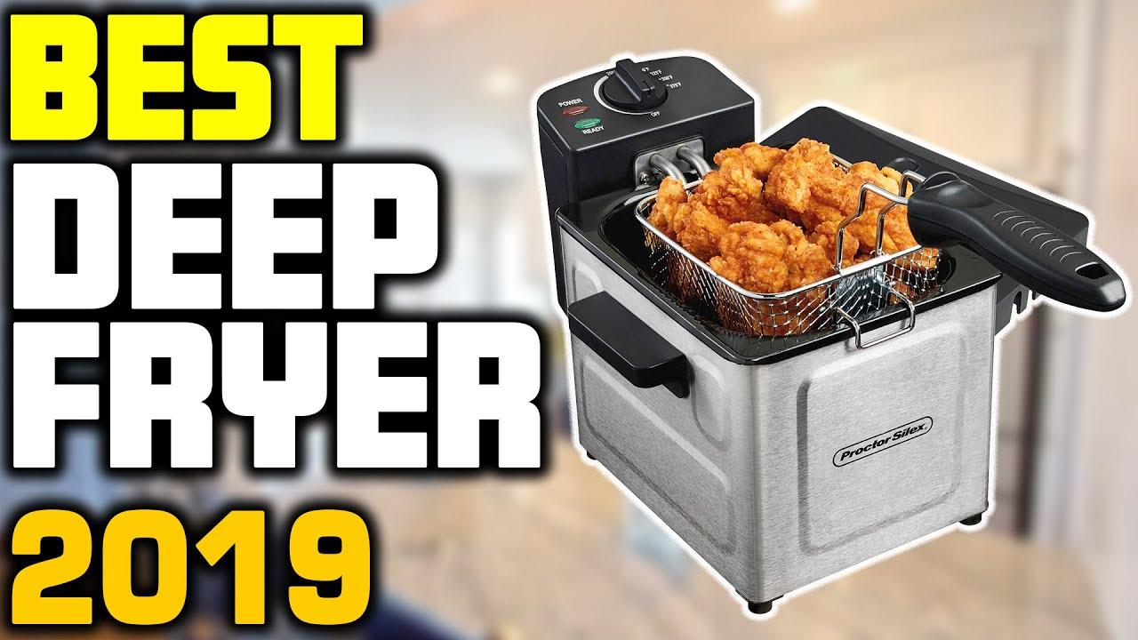 5 Best Deep Fryers in 2019