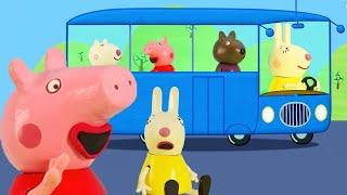 Wheels on the Bus Nursery Rhymes   Peppa Pig Song   Nursery Rhymes + Kids Songs