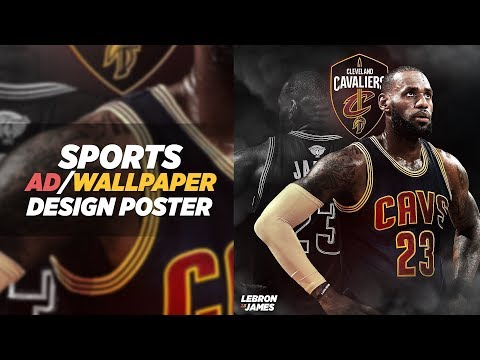 Photoshop Tutorial: Sport AD/Wallpaper Design Poster
