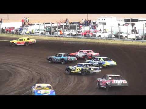 IMCA Hobby Stock Heats Benton County Speedway 4/22/18