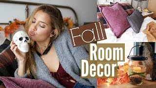 8 Ways To Decorate Your Room For Fall | Tesschristine