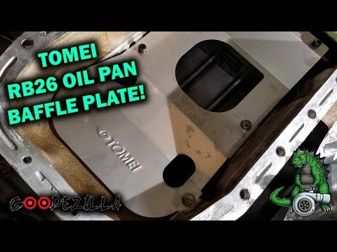 Tomei RB26 Oil Pan Baffle Plate Install