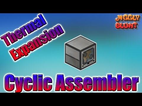 Cyclic Assembler (Thermal Expansion) | Minecraft Mod Tutorial