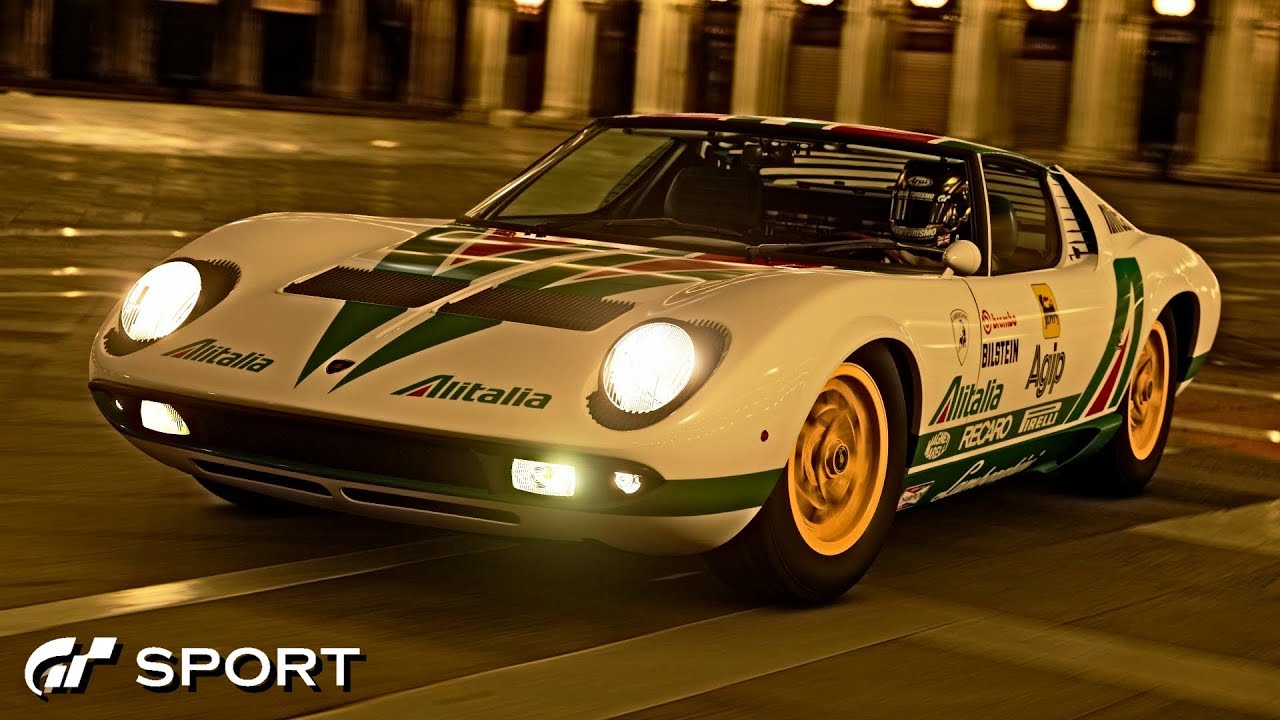 Gt Sport Lamborghini Miura P400 Review Youtube