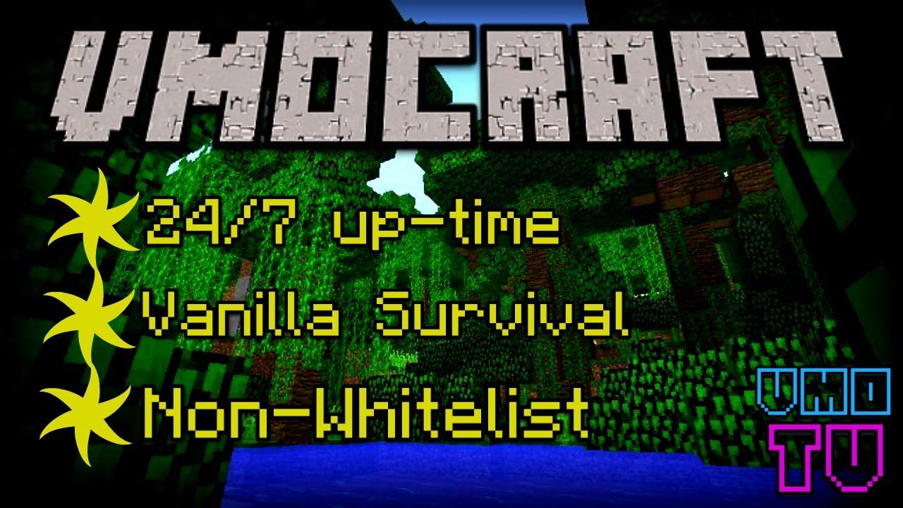 Minecraft Vanilla Server FREE NONWHITELISTUP RIGHT - Minecraft server erstellen vanilla