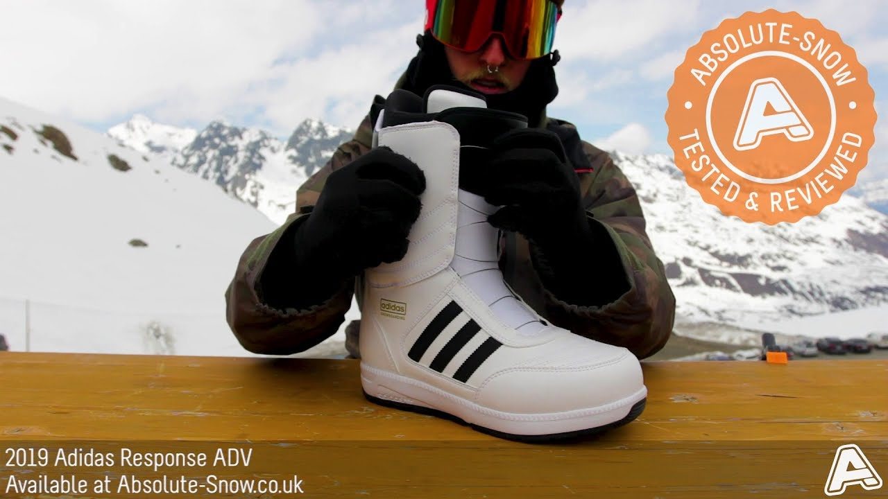 newest 8e744 a0d36 2018   2019   Adidas Response ADV Snowboard Boots   Video Review