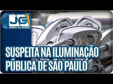Suspeitas na iluminação pública de São Paulo
