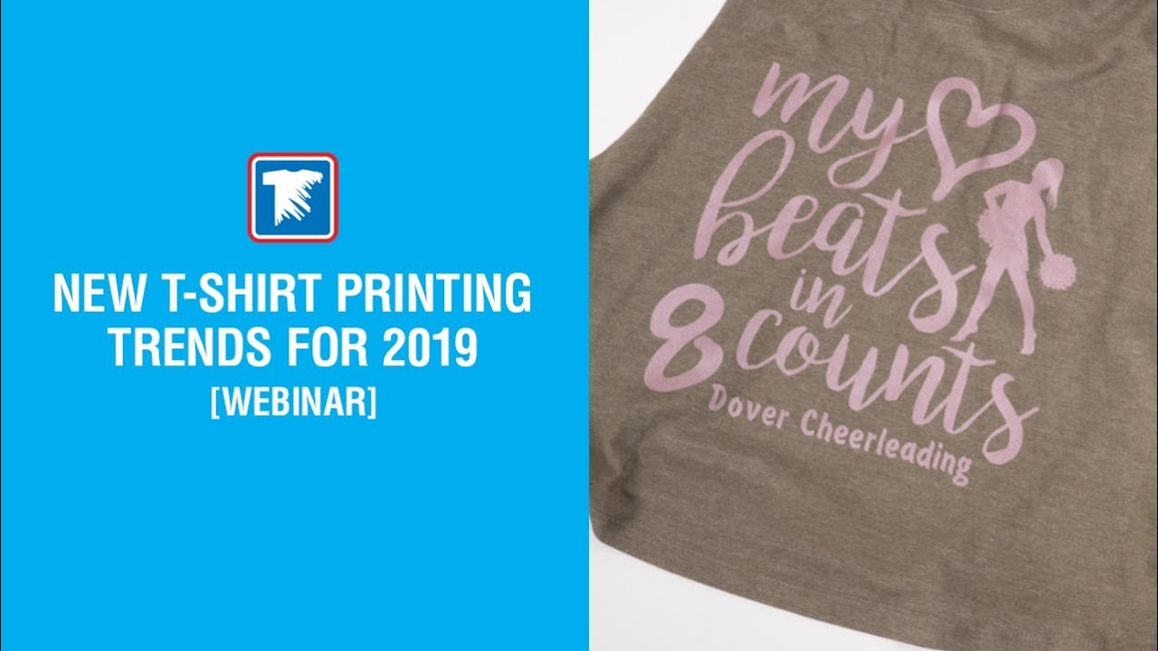 efb34a76 New T-Shirt Printing Trends for 2019 | Videos | Transfer Express