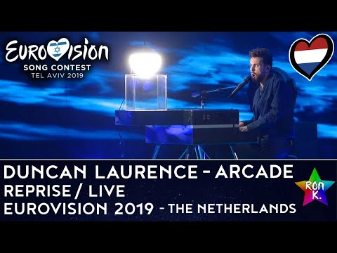 "Duncan Laurence ""Arcade"" (The Netherlands) - Reprise / Live performance 