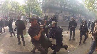 Manif 1er Mai - Compile Violences Policières