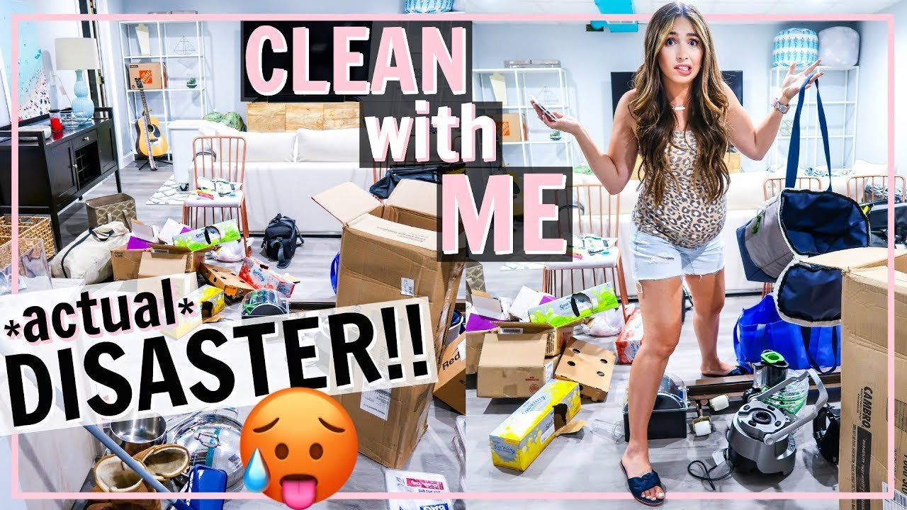 ????HUGE DISASTER! EXTREME MESS DISASTER CLEAN WITH ME! | Alexandra Beuter