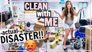🥵HUGE DISASTER! EXTREME MESS DISASTER CLEAN WITH ME! | Alexandra Beuter