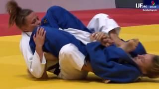 Judo GP Zagreb 2019 : JuJi Gatame by Charline Van Snick