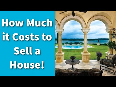 How Much it Costs to Sell a House!