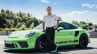 Paul Casey golfer test the new Porsche 911 GT3 RS