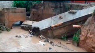 Tarapoto: lluvias torrenciales se prolongan por seis horas y causan destrozos