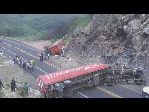 Identifican a las 11 víctimas de accidente en San Luis Potosí